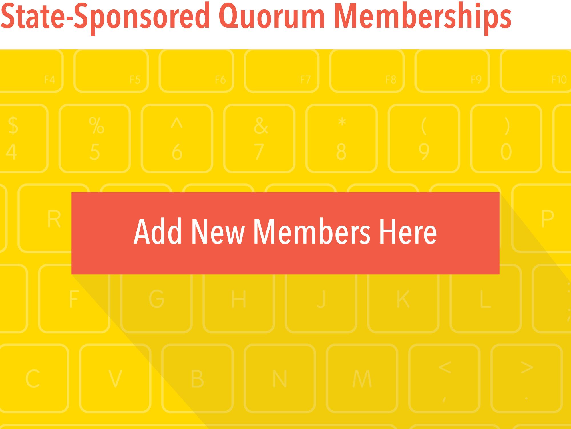 Add New Members Here